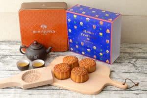 歐華酒店2020『普羅旺斯花苑』廣式月餅禮盒