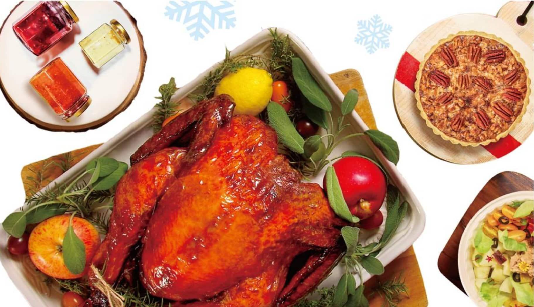 感恩節吃什麼?歐華酒店的火雞禮籃囉!