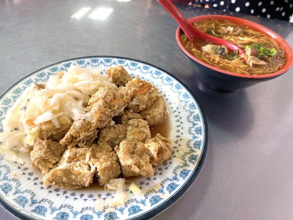 阿基-手工臭豆腐 大腸蚵仔麵線