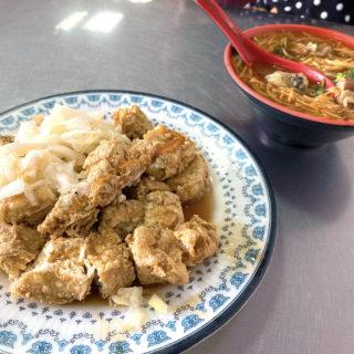 阿基臭豆腐麵線